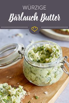 Spicy wild garlic butter with lime and macadamia- Würzige Bärlauch Butter mit Limette und Macadamia Wild garlic is the star in your butter! Salad Recipes For Parties, Orzo Salad Recipes, Egg Recipes, Cooking Recipes, Snacks Recipes, Summer Grilling Recipes, Wild Garlic, Healthy Food List, Cooking On The Grill