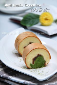 Swiss Cake, Indonesian Desserts, Cake Roll Recipes, Brownie Cake, Brownies, Cake Servings, Rolls Recipe, Food Plating, Tart
