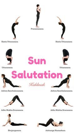 how to do the 12 poses of sun salutation for beginners in