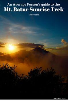 An Average Person's Guide to Mount Batur Sunrise Trek, Indonesia    Yoko Meshi  For more Indonesia Tips and guides visit www.yokomeshi.co.uk