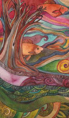 Watercolor, by Megan Noel