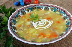 рецепты супов в детском саду