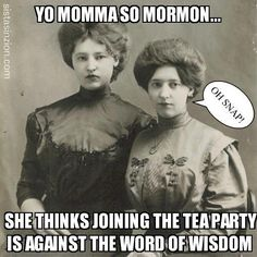 Yo Momma So Mormon...