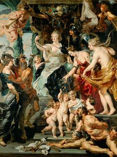 Peter Paul Rubens - Medici cycle: The happy reign.