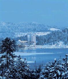 Winter Wonderland in Coeur d' Alene, Idaho