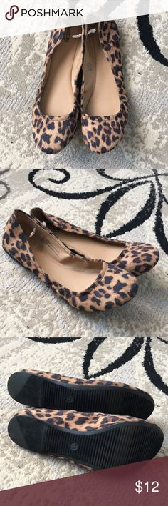 NWOT Mossimo Leopard Flats NWOT. Flexible sole. Mossimo Supply Co. Shoes Flats & Loafers