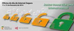 Oficina do Dia da Internet Segura 11 e 15 fevereiro | 15h30 às 18h00. Entrada livre