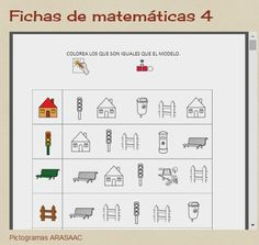Aula Abierta T.E.A. Colegio Federico de Arce Martínez.: Fichas de matemáticas 4
