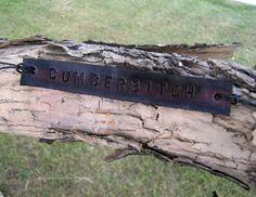 Cumberbitch BBC Benedict Cumberbatch Sherlock Fandom Inspired Tie Up Leather ID Bracelet on Etsy, $8.50 CAD