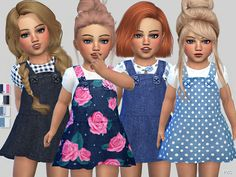 Denim Toddler Dress Collection