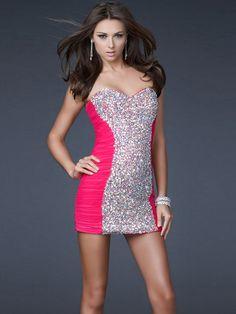 A-Line Light Plum Chiffon Strapless Sweetheart Neckline Sleeveless Short Cocktail Dress
