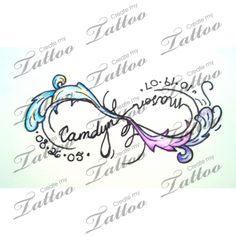 Two Infinity and Beyond | Tattoo #44242 | CreateMyTattoo.com