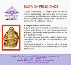 Escola Portuguesa de Feng Shui: BUDA DA FELICIDADE
