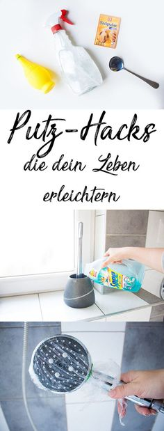 Household Tips: 10 ingenious cleaning hacks that make your life easier - ♥ Mama Hacks, Tipps und Tricks, die Alltag mit Baby und Kindern erleichtern ♥ - İdeen Organisation Hacks, Organization, Home Hacks, Diy Hacks, Cleaning Hacks, Putz Hacks, Easy Crafts, Diy And Crafts, Decor Crafts