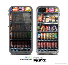 The Vending Machine Skin for the Apple iPhone 5c LifeProof Case