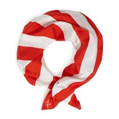 Kate Spade. Sailor Stripe Red Scarf. WHY ARE YOU ONLY AVAILABLE ONLINE!?