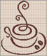 80 ricami Coffeemania. Schemi a punto croce. Discussione sulla LiveInternet - Russo Servizi online Diaries