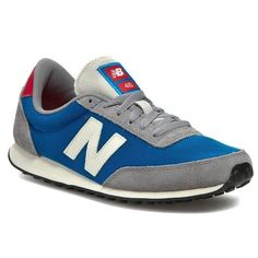 Sneakersy NEW BALANCE - U410HGB Niebieski Szary New Balance, Sneakers, Shoes, Fashion, Tennis, Moda, Slippers, Zapatos, Shoes Outlet
