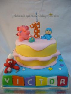 Pocoyo cake - Maybe for birthday 2