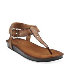 Lynx Charm in Honey Synthetic - Womens Sandals from Clarks