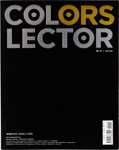 Colors Magazine - Collector..no idea what this issue is about. Would like a copy of this one, too.