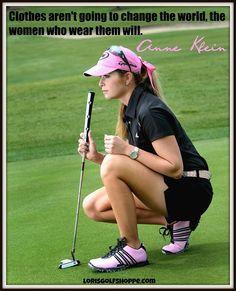 Paula Creamer, all time favorite golfer! #lorisgolfshoppe #golf