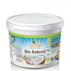 Premium-Bio-Kokosöl kaufen: 3000 ml Vegan, Raw Food Recipes, Coffee Cans, Smoothie, Health, Products, Coconut, Harvest, Families