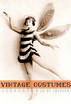 10 VINTAGE COSTUMES to Inspire — PETIT A PETIT +Family