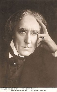 """Henry Irving. Actor of """"Nosferatu"""" and several other plays."""