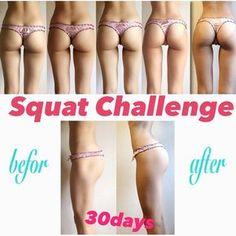 いま海外女子を中心に大人気となっている30日間チャレンジ!毎日数分のトレーニングを続けているだけで驚きのスリムボディに変身できるんです♡ Before After Body, Fitness Diet, Health Fitness, Squat Challenge, Good Tutorials, Body Motivation, Physical Fitness, Excercise, Beauty Care