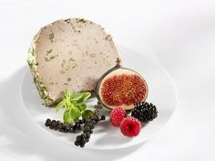 Liver #pate with fresh fruit #gelatine #GME #maincourses ©StockFood
