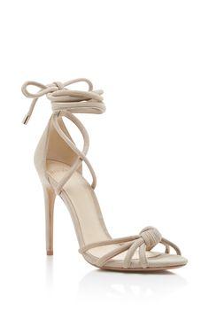 ALEXANDRE BIRMAN Layla Tie Up Sandals. #alexandrebirman #shoes #sandals
