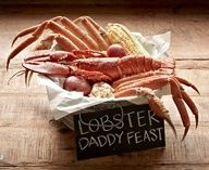The Maine Event - Lobster Daddy Feast: Snow crab and a whole lobster all shacked up in one bucket. #JoesCrabShack #JoesMaineEvent #Lobster #SnowCrab #LobsterDaddyFeast