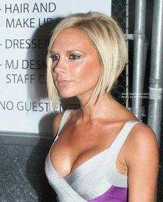 15 Best Victoria Beckham Blonde Bob Haircuts