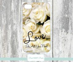 LOVE IS ALL You Need Phone Cover Phone Cases by Pearlheartprints