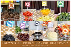 Brown Bear Brown Bear Birthday Party