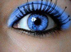 Eye, beauty is in the eye of the beholder