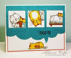 """Your Memories with Ally: I Knead You Today! Featuring the My Favorite Things stamp set """"I Knead You"""" #mftstamps"""
