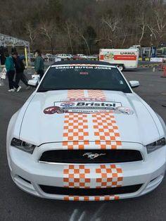 Butch Jones Car