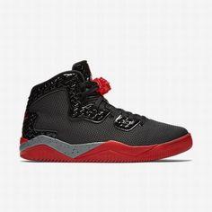 $109.42 #determination #motivator #baboom #sweatshop #fitdad #noexcuses  #fitfamily #metcon nike air jordan fire red,Nike Mens Black/Cement  Grey/Fire Red Air ...