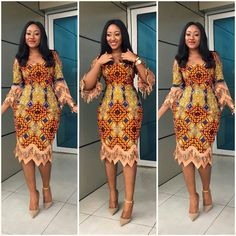 Last Eye-Popping Ankara Gown Styles. This season Eye-Popping Ankara Gown Styles started with a bang, African Dresses For Women, African Print Dresses, African Attire, African Fashion Dresses, African Wear, African Women, Ankara Styles For Women, African Outfits, Aso Ebi Lace Styles