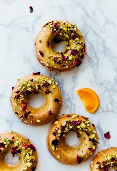 Baked Citrus Donuts