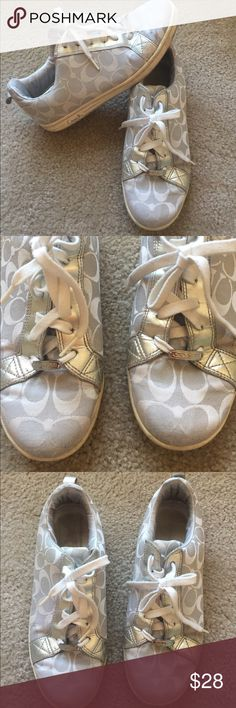Coach tennis shoe Coach tennis shoe, good condition Coach Shoes