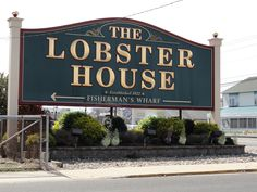 The Lobster House, Cape May NJ. You can get scallops the size of your head here. We ate here almost every day.
