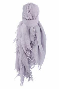 Chan Luu - Lavender Aura Cashmere and Silk Scarf, $195.00 (http://www.chanluu.com/scarves/lavender-aura-cashmere-and-silk-scarf/)
