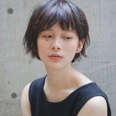 前髪ありのキュートなショートボブ タカハシ アヤミ