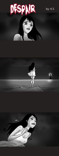 Silent Horror :: Despair   Tapastic Comics - image 1