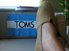 How to clean your TOMS.  Don't use baking soda!!