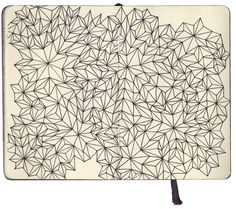 part 2 of sketchbook exploring obsessive patterns