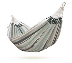 LA SIESTA Paloma Olive Fabric Hammock at Lowe's. Double Paloma hammock will attract you with its classic, elegant design and understated shades of blue and gray. Traditional Colombian hammock made of Backyard Hammock, Outdoor Hammock, Hammocks, Outdoor Camping, Hanging Hammock Chair, Swinging Chair, Olives, Hammock Accessories, Double Hammock